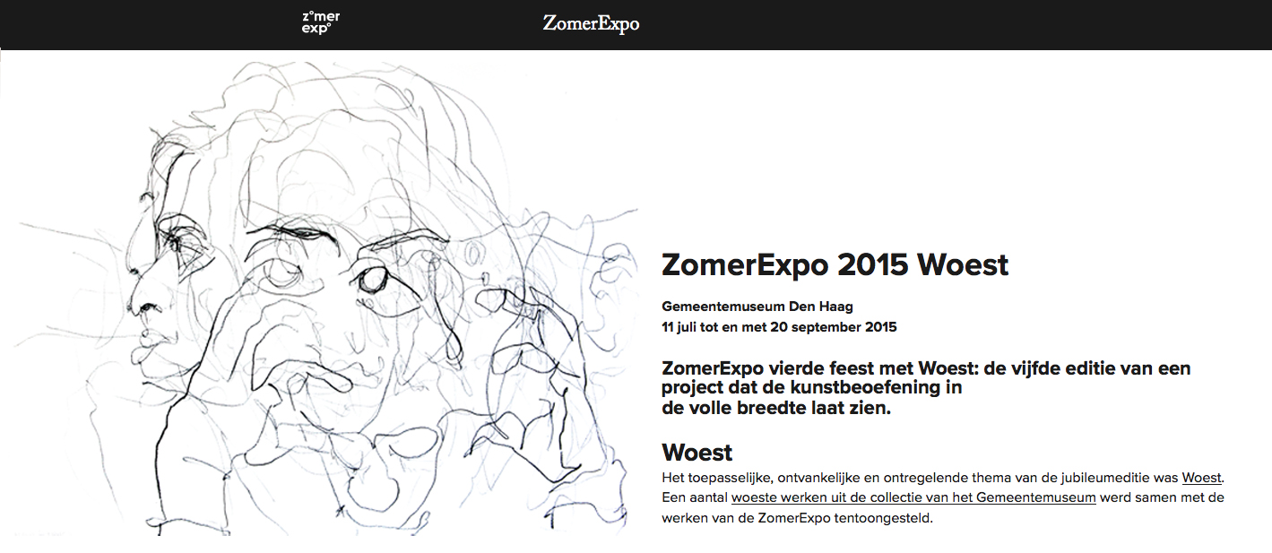 zomer expo 2015 woest