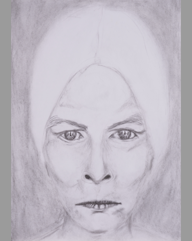 drawing - the verdict - dimension A2